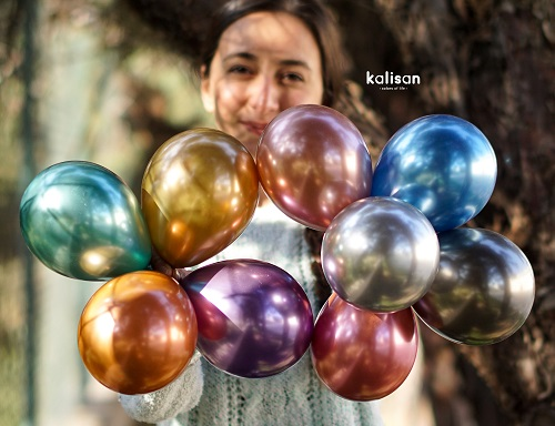 Kalisan Mirror Chrome Latex Balloons
