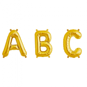 16 inch Gold Letters and Numbers