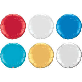 36 inch Qualatex Round Foil Balloons