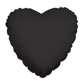 18 inch Black Heart Foil Balloons