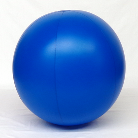 6 foot Blue Vinyl Display Ball