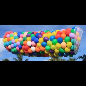 BOSS 125 Balloon Pre-Strung Balloon Drop Net Kit - Low Ceiling - 2' x 14'