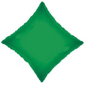 18 inch Emerald Green Diamond Foil Balloons