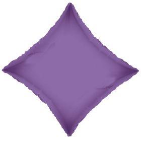 18 inch Lavender Diamond Foil Balloons