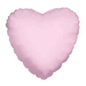 18 inch Light Pink Heart Foil Balloons