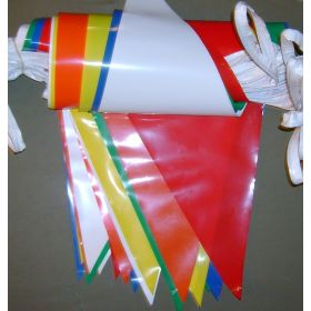 105 Foot Multi Color Pennant String