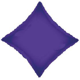 18 inch Purple Diamond Foil Balloons