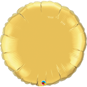 Qualatex 36 inch Gold Circle Foil Balloons