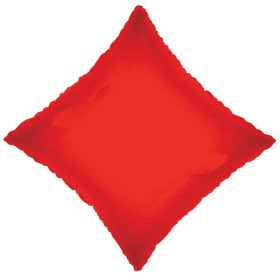 18 inch Red Diamond Foil Balloons
