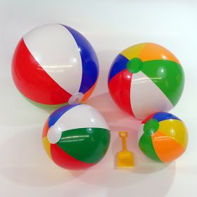 Traditional 6 Color Beach Balls