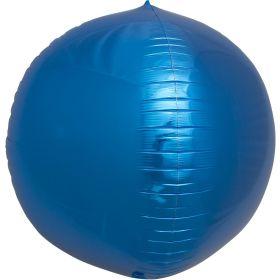 17 inch Northstar Blue Sphere Foil Balloons