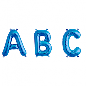 16 inch Blue Letters and Numbers