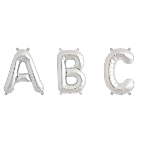 16 Inch Silver Numbers and Letters