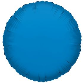18 inch Periwinkle Blue Circle Foil Balloons
