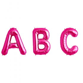34 inch Magenta Letters and Numbers