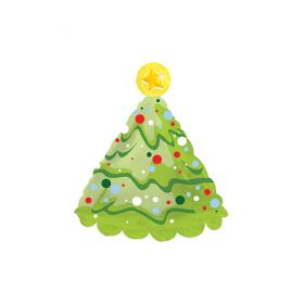 21 inch Foil Christmas Tree Shape Balloon