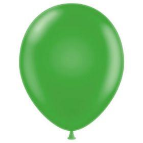 11 inch Latex Balloons - Metallic Apple Green - 100 count