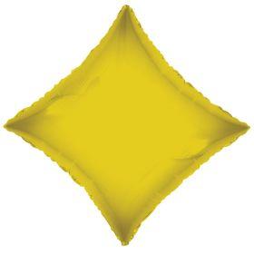 18 inch Gold Diamond Foil Balloons