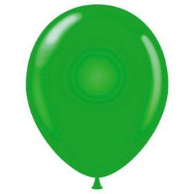 11 inch Tuf-Tex Latex Balloons - Standard Green - 100 count