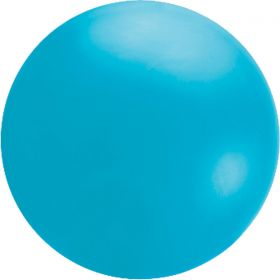 Round 5.5 Foot Island Blue Cloudbuster Balloons