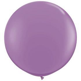 36 inch Tuf-Tex Round Latex Balloons - Lavender