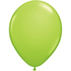 11 inch Tuf-Tex Latex Balloons - Lime Green - 100 count