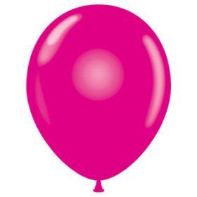 24 inch Tuf-Tex Latex Balloons - Crystal Magenta - 25 count