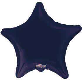 18 inch Navy Blue Star Foil Balloons