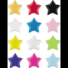 36 inch Qualatex Star Foil Balloons
