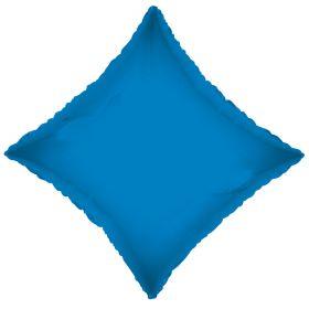 18 inch Sapphire Blue Diamond Foil Balloons