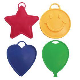35 Gram Premium SoftWeights Primary Assorted Balloon Weights - 15 count