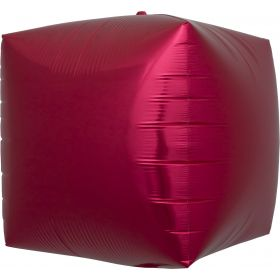 17 inch Northstar Red Cube Foil Balloons