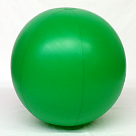 6 foot Green Vinyl Display Ball