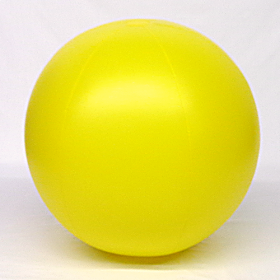 6 foot Yellow Vinyl Display Ball