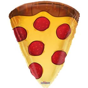 18 inch Pizza Slice Shape Foil Mylar Balloon