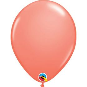11 inch Qualatex Coral Latex Balloons - 100 count