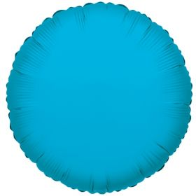 18 inch Turquoise Circle Foil Balloons