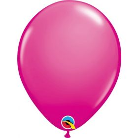 5 inch Qualatex Wild Berry Latex Balloons - 100 count