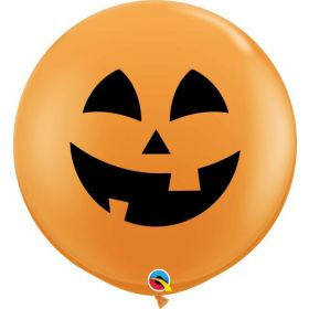 36 inch Qualatex Jolly Jack Halloween Latex - 2 count