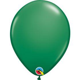 11 inch Qualatex Green Latex Balloons - 100 count