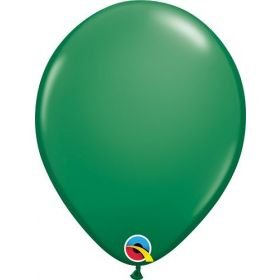 16 inch Qualatex Green Latex Balloons - 50 count