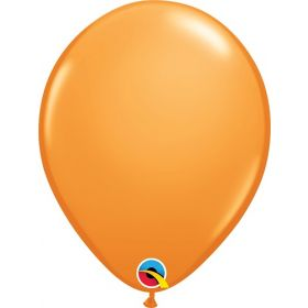 16 inch Qualatex Orange Latex Balloons - 50 count