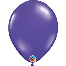 5 inch Qualatex Quartz Purple Latex Balloons - 100 count