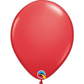 16 inch Qualatex Red Latex Balloons - 50 count