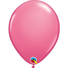 11 inch Qualatex Rose Latex Balloons - 100 count