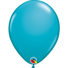 11 inch Qualatex Tropical Teal Latex Balloons - 100 count