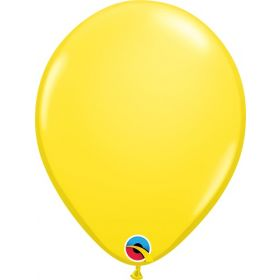 16 inch Qualatex Yellow Latex Balloons - 50 count