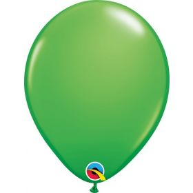 11 inch Qualatex Spring Green Latex Balloons - 100 count
