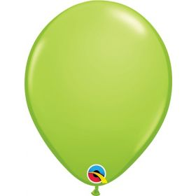 5 inch Qualatex Lime Green Latex Balloons - 100 count