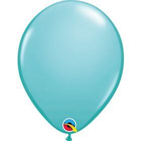11 inch Qualatex Caribbean Blue Latex Balloons - 100 count
